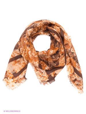 Платок Eleganzza. Цвет: коричневый, оранжевый