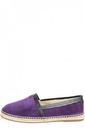 Эспадрильи Dolce & Gabbana. Цвет: фиолетовый
