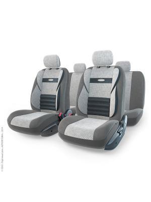 Авточехлы COMFORT COMBO, CMB-1105 D.GY/L.GY (M) Autoprofi. Цвет: серый