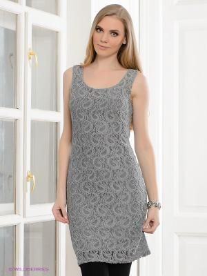 Платье Hammond. Цвет: серый