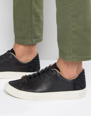 Toms Кожаные кроссовки Lenox. Цвет: черный