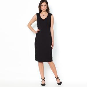 Платье ANNE WEYBURN. Цвет: черный