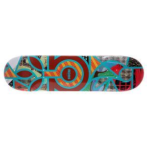 Дека для скейтборда  S5 Suciu Melange 32 x 8.0 (20.3 см) Habitat. Цвет: мультиколор