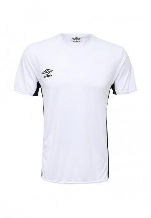 Футболка спортивная Umbro. Цвет: белый