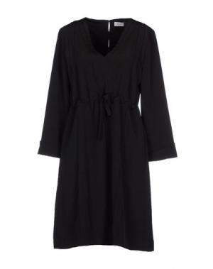 Короткое платье AILANTO. Цвет: черный