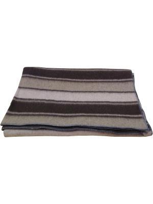 Одеяло Шерстяно-суконная фабрика. Цвет: светло-коричневый