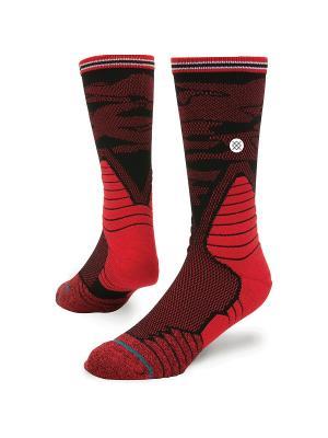 Носки BASKETBALL PERFORMANCE DAYBREAK (SS17) Stance. Цвет: черный, красный