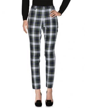Повседневные брюки EACH X OTHER. Цвет: зеленый