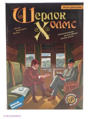Игра  настольная Шерлок Холмс DREAM MAKERS. Цвет: темно-коричневый