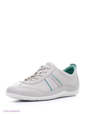 Ботинки ECCO. Цвет: светло-серый