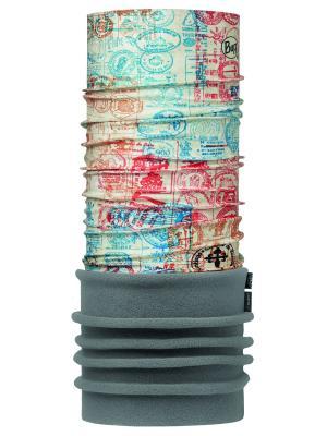 Бандана CAMINO DE SANTIAGO POLAR CREDENCIAL MULTI / FLINT Buff. Цвет: голубой, розовый, серый