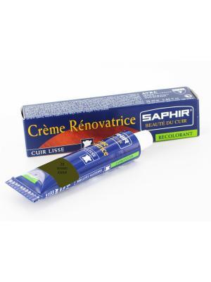 Восстановитель кожи Creme RENOVATRICE, 25 мл. (жидкая кожа)(28 хаки) Saphir. Цвет: хаки