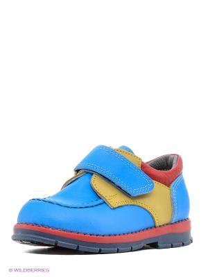 Ботинки ТАШИ ОРТО. Цвет: голубой, красный, оливковый