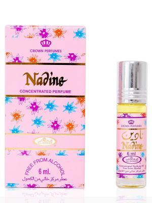 Арабские масляные духи Надин (Nadin), 6 мл Al Rehab. Цвет: лазурный, сиреневый, малиновый