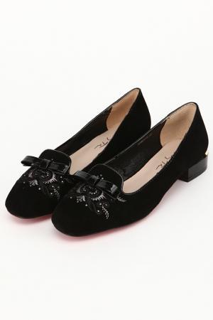 Туфли OnlyTa. Цвет: черный
