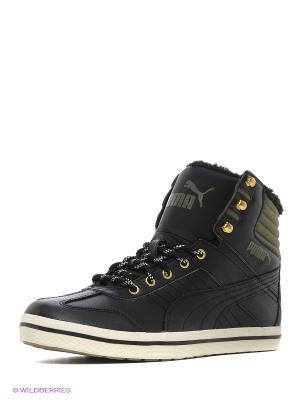 Кеды Tatau Sneaker Boot Puma. Цвет: черный