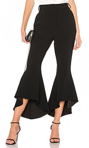 Расклешенные брюки st barts cropped Rebecca Vallance. Цвет: черный
