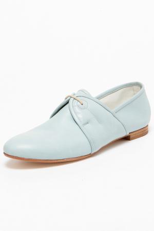 Ботинки GIORGIO MALLARDI. Цвет: голубой