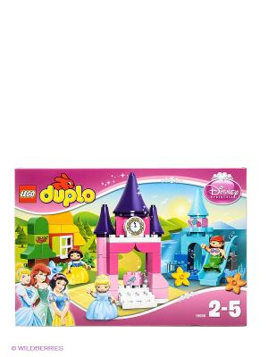Игрушка Коллекция Принцесса Диснея, номер модели 10596. Серия DUPLO LEGO. Цвет: розовый, зеленый, фиолетовый