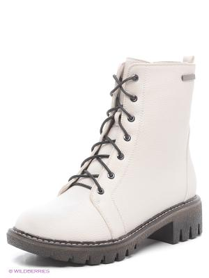 Ботинки ELCHE. Цвет: молочный