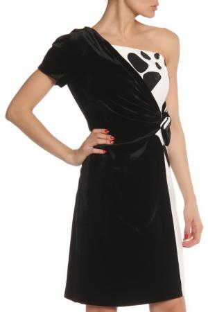 Платье Maria Grazia Severi. Цвет: черный, белый