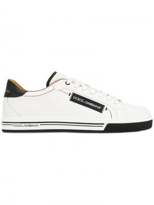 Классические кеды Dolce & Gabbana. Цвет: белый