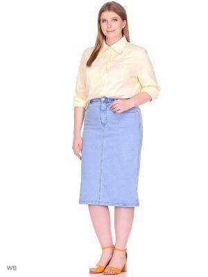 Блузка BERKLINE. Цвет: золотистый