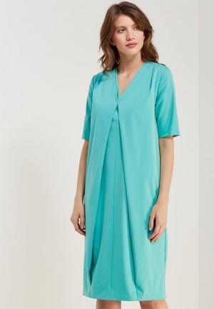 Платье Ruxara. Цвет: бирюзовый