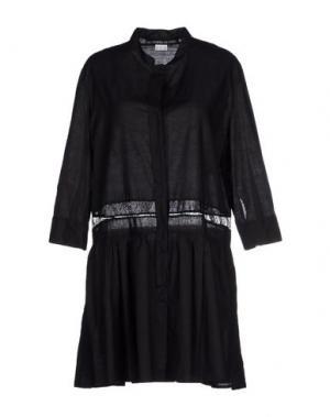 Короткое платье LES PRAIRIES DE PARIS. Цвет: черный