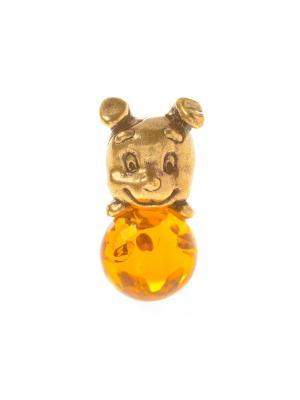 Фигура Собака Шарик Aztek. Цвет: желтый, коричневый, светло-оранжевый