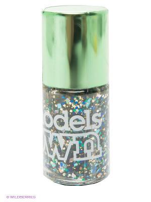 Лак для ногтей, Mirrorball Dancing Queen Models Own. Цвет: зеленый, синий