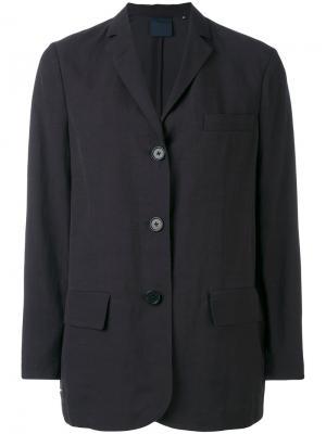 Пиджак свободного кроя Aspesi. Цвет: коричневый