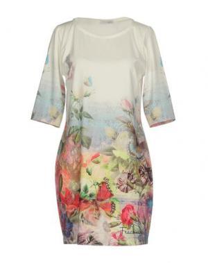 Короткое платье BLUEFEEL by FRACOMINA. Цвет: белый