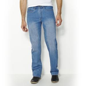 Джинсы прямые стандартного покроя CASTALUNA FOR MEN. Цвет: синий потертый,темно-синий потертый,темно-синий,черный
