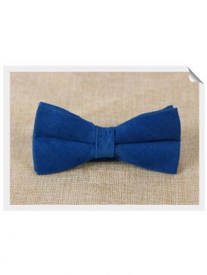 Галстук-бабочка Churchill accessories. Цвет: синий