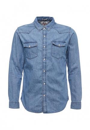 Рубашка джинсовая Tommy Jeans. Цвет: голубой