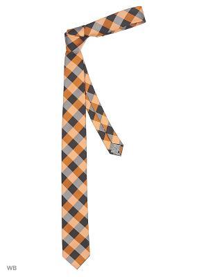 Галстук J Ploenes. Цвет: оранжевый