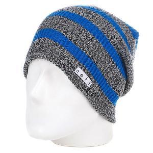 Шапка носок  Daily Stripe Grey/Blue Neff. Цвет: серый