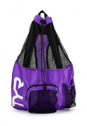 Рюкзак TYR. Цвет: фиолетовый