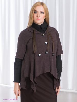 Жакет МадаМ Т. Цвет: темно-коричневый