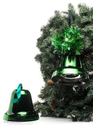 Комплект колоколов Mister Christmas. Цвет: зеленый