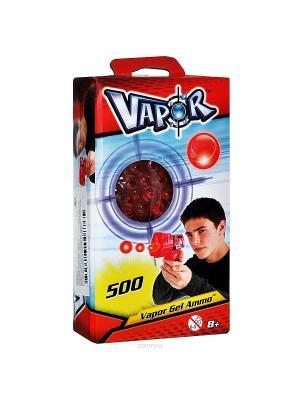 Готовые заряды красного цвета для бластеров 500 штук Vapor. Цвет: красный, черный