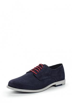 Туфли Bata. Цвет: синий