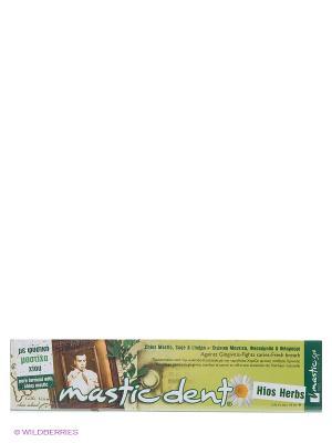 Зубная паста с травами. Хиос Mastic Dent Hios Herbs Spa. Цвет: зеленый