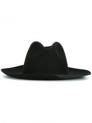 Шляпа Masculine Super Duper Hats. Цвет: чёрный