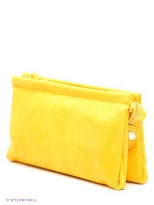 Кошелек-клатч Kawaii Factory (желтый). Цвет: желтый