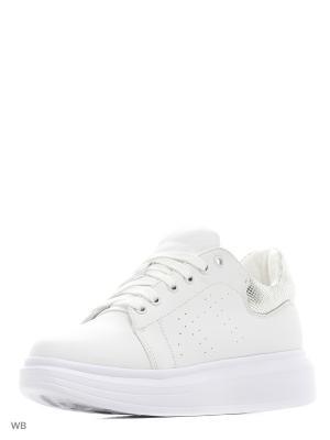 Кеды Vero moda. Цвет: белый