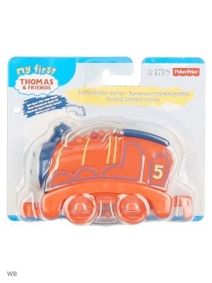 Паровозики с крутящимися шариками в ассортименте THOMAS & FRIENDS. Цвет: оранжевый
