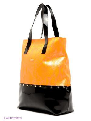 Сумка Feltimo. Цвет: оранжевый, черный