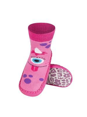Тапки детские Soxo. Цвет: розовый